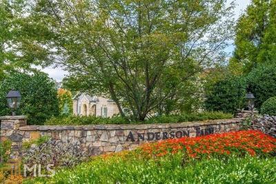 Marietta Residential Lots & Land For Sale: 313 Anderwood Ridge