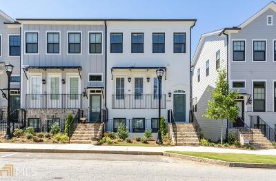 Atlanta Condo/Townhouse New: 1643 Morningtide Ct #61