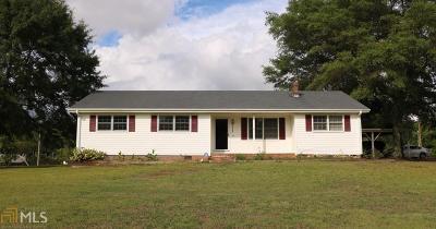 Loganville Single Family Home New: 3865 Rosebud Rd