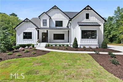 Fulton County Single Family Home New: 14180 Cogburn Rd
