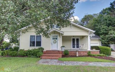 Conyers Single Family Home New: 985 N North Main St