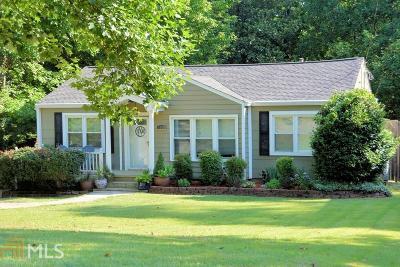 Atlanta Single Family Home New: 1144 Country Lane