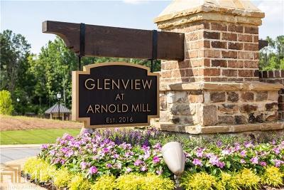 Fulton County Condo/Townhouse New: 12573 Arnold Mill Rd #6