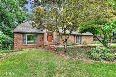 Fulton County Single Family Home New: 10420 Forest Bridge Dr