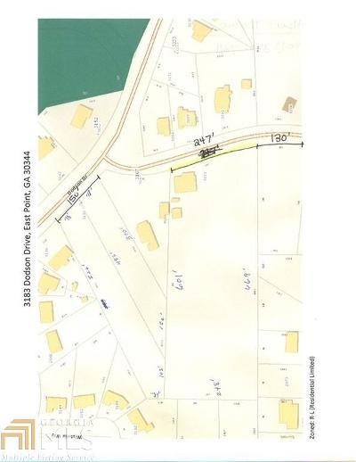 Fulton County Residential Lots & Land New: 3183 Dodson Drive