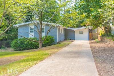 Atlanta Single Family Home New: 2485 Wentworth Drive NE