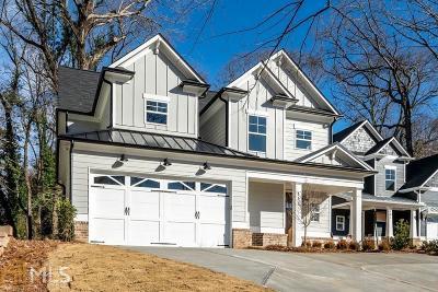 Atlanta Single Family Home New: 167 Candler Road SE