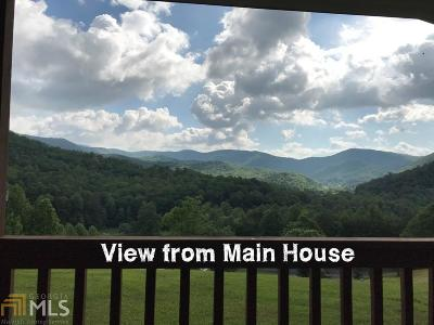 Hiawassee Single Family Home For Sale: 132 Hall Creek Rd