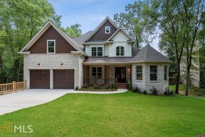 Roswell Single Family Home New: 250 Windflower Trce