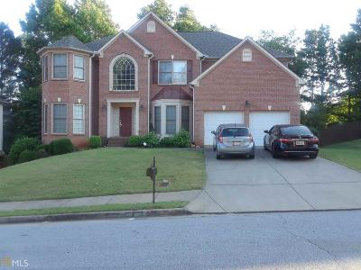 Dacula Single Family Home New: 2878 Stockbridge Wy