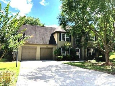 Dacula Single Family Home For Sale: 3407 Ridgemill Cir