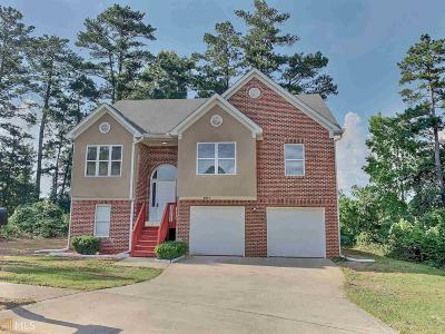 Clayton County Single Family Home Under Contract: 8017 Buffett Trl
