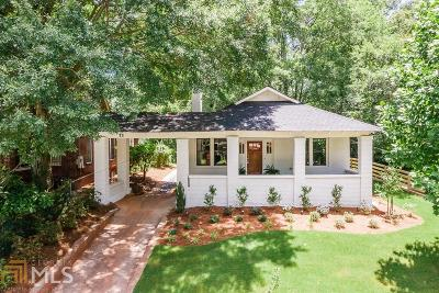 Atlanta Single Family Home New: 1676 Rogers