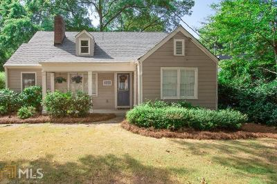 Atlanta Single Family Home New: 2801 Hosea L Williams