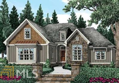 Douglasville Single Family Home New: 5493 Big A Rd
