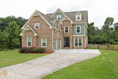 Acworth Single Family Home New: 45 Silvercrest Drive