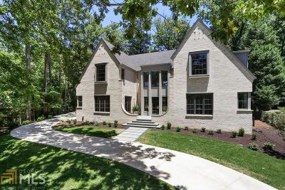 Atlanta Single Family Home New: 1731 Wildwood Road NE