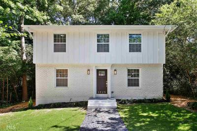 Atlanta Single Family Home New: 1329 Beecher