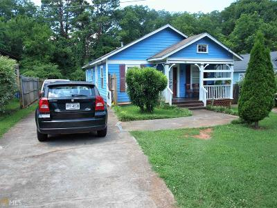Atlanta Single Family Home New: 998 Sparks