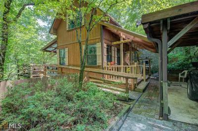 Rabun County Single Family Home New: 196 Bull Frog #7
