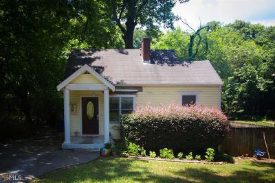 Atlanta Single Family Home New: 141 Watson Cir