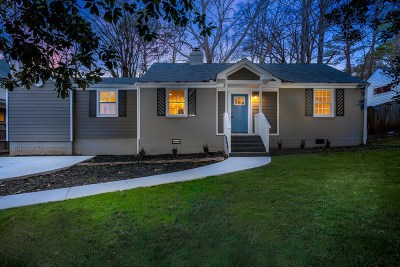 Decatur Single Family Home New: 1237 Thomas Rd