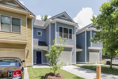 Atlanta Single Family Home New: 40 Mildred Pl