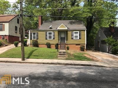Atlanta Single Family Home New: 1255 Campbellton Road SW
