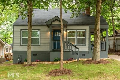 East Point Single Family Home New: 1327 McClelland Ave