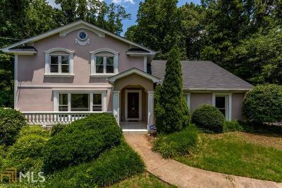 Sandy Springs Single Family Home New: 275 NW Glen Lake Dr
