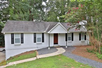 Marietta Single Family Home New: 2266 Turtle Club Drive NE