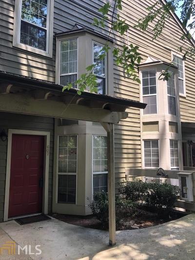 Marietta Condo/Townhouse New: 607 Riverview Dr