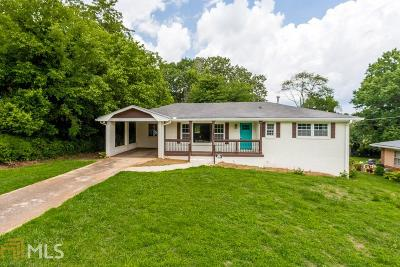 Decatur Single Family Home New: 2762 Toney Dr