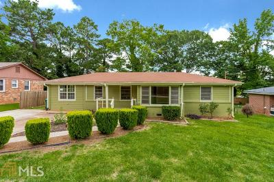 Decatur Single Family Home New: 2786 Toney Dr