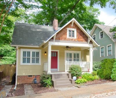 Atlanta Single Family Home New: 699 Vernon Ave