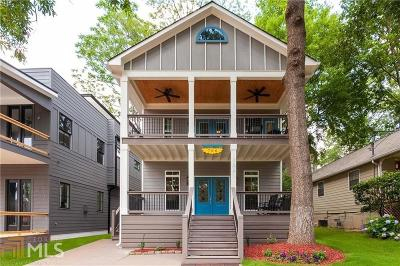Atlanta Single Family Home New: 706 Grant Terrace SE