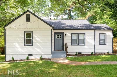 Decatur Single Family Home New: 1664 Columbia Drive