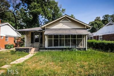 Mozley Park Single Family Home For Sale: 1600 Martin Luther King Jr Parks