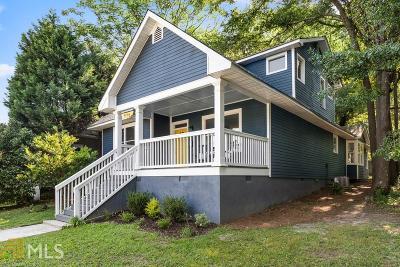 Atlanta Single Family Home New: 436 Grant Street SE
