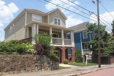 Atlanta Single Family Home New: 116 SE Richardson