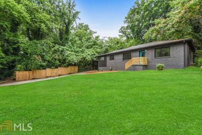 Atlanta Single Family Home New: 1595 Alder Lane SW
