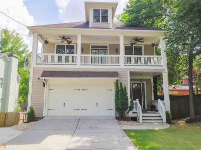 Atlanta Single Family Home New: 2448 Lowe