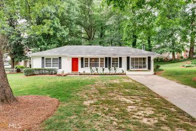 Brookhaven Single Family Home Under Contract: 2621 Skyland