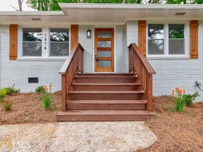 Decatur Single Family Home New: 1674 Carter Rd