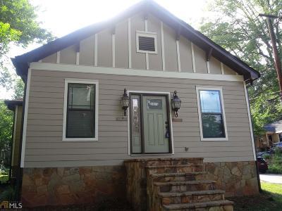 Atlanta Multi Family Home New: 1506 NW Mecaslin St
