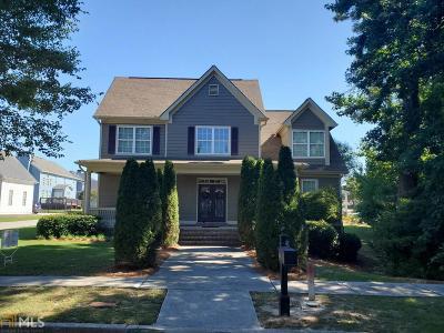 Grayson Single Family Home New: 555 John Jacobs Trl