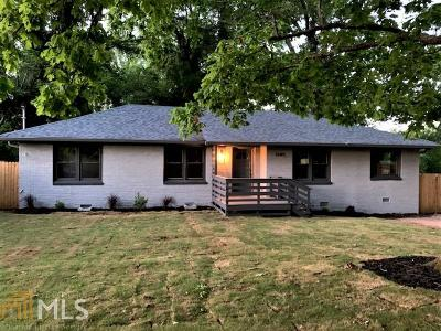 Decatur Single Family Home New: 1685 Valencia Rd