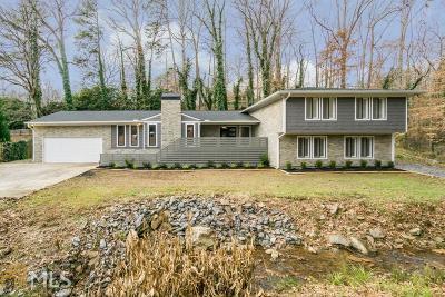 Sandy Springs Single Family Home New: 5310 Mt Vernon Pkwy