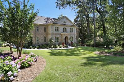 Sandy Springs Single Family Home New: 545 Franklin Rd