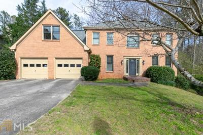Suwanee Single Family Home New: 105 Bent Oak Way